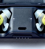 Indidual LEDs indicate if each