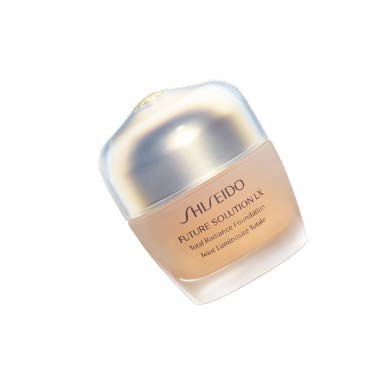 The Shiseido Future Solution LX Total Radiance Foundation E SPF 15, $122 (30 ml), combines both skincare and makeup with proprietary technologies and ingredients that help delay skin ageing and lighten dark spots for luminous-looking skin.