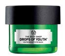Relieve fatigue and instantly cool down the eye area with The Body Shop Drops of Youth™ Youth Bouncy Eye Mask, $39.90 (20 ml).