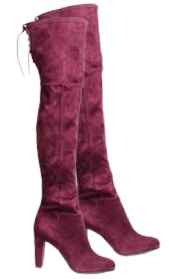 H&M suede boots, $94.95