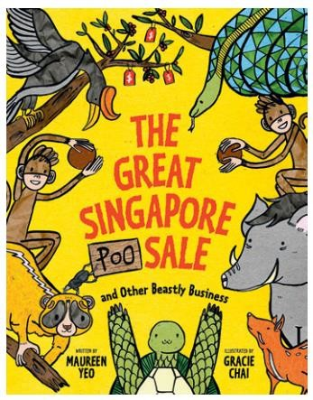 The Great Singapore Poo Sale and Other Beastly Business book, $16.90, from www.shop.epigrambooks.sg