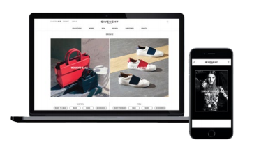 Givenchy has updated its digital realm with a handful of new features