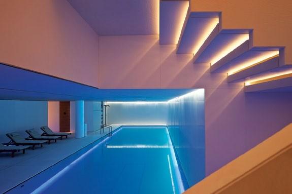 Take a dip in the pool at Akasha.