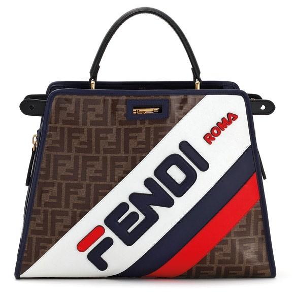 4. Peekaboo calf leather bag in M, $1,690.