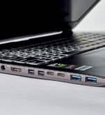The laptop comes with two USB 3.1 (Gen 2) Type-C ports.