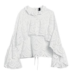 Polyester, $106, Topshop.
