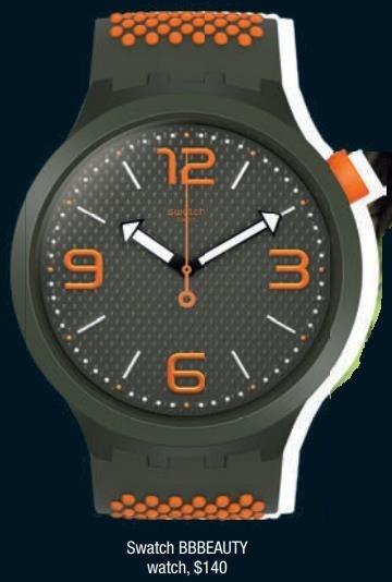 Swatch BBBEAUTY watch, $140