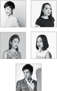 From left to right and top to bottom: LYNETTE KOH (Watches & Fashion Editor); JASMINE TAY (Writer); JENNIFER CHEN (Editor); DENISE KOK (Features Editor); LIAO XIANGJUN (Features Writer).