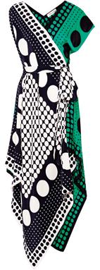 Silk (price unavailable), Diane von Furstenberg.