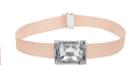 Atelier Swarovski choker with grosgrain ribbon, $599, Swarovski.