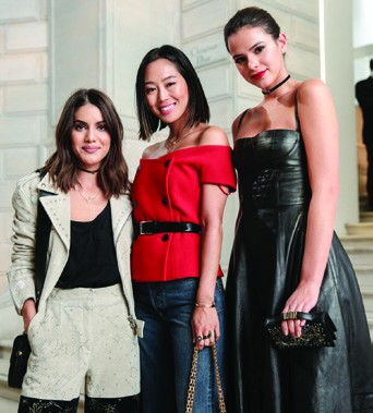 6. Camila Coelho, Aimee Song and Bruna Marquezine