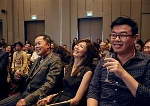 16 Dr Bernard Cheong, Dolly Cheong & Paul Ling