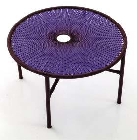 Coffee table for Moroso's  Banjooli collection.