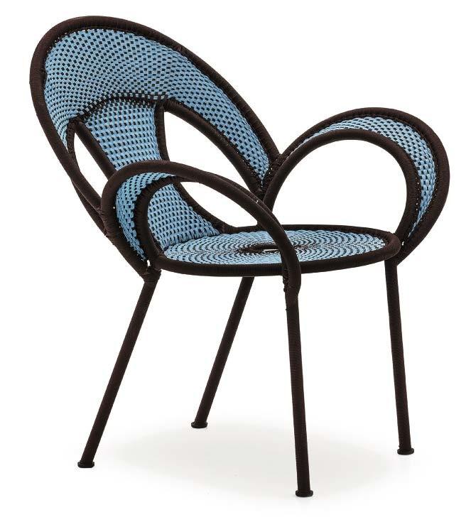 Armchairs  for Moroso's Banjooli collection.