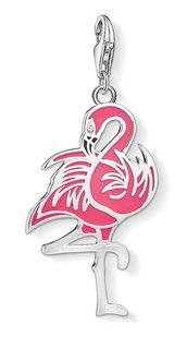 Flamingo pendant, $149.