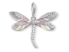 Dragonfly pendant, $219.