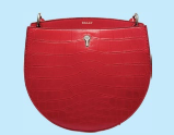 Cecyle calf leather bag, $2,490, Bally.