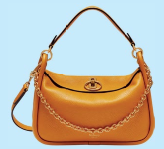 Leighton calf leather bag (price unavailable), Mulberry.