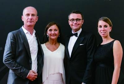 9. Lorenzo Ronzoni (Isola Creativa Studio), Silvia Amici (Ars Media), and Federico Peruccio and Cristina Malalan of Monte Carlo Yachts