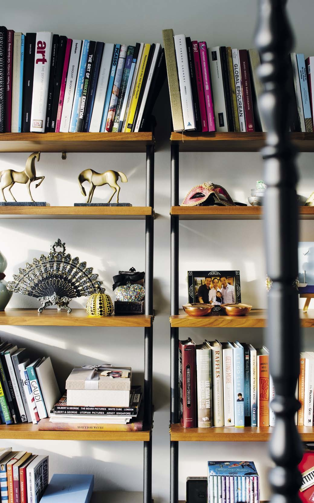The Valet office shelf sets in the study area are by Stellar Works, from  P5 Studio.