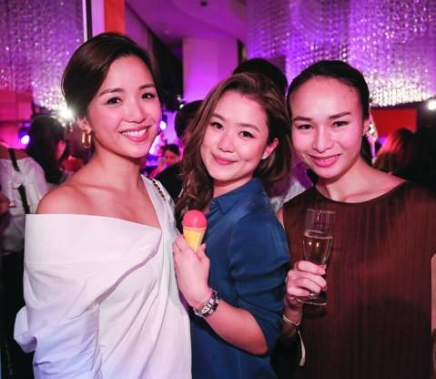 2. Tiffany Shek, Pearl Shek and Diane Quilindo
