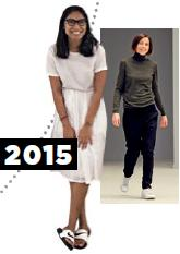 <b>Palate cleanser: Starting with a clean slate in all-white</b> Phoebe Philo