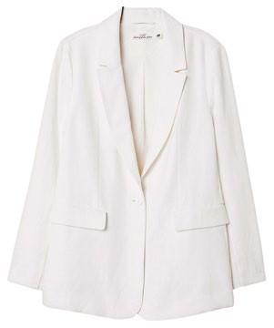 Lined linen jacket, $44.95, H&M.
