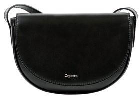 Leather bag, $690, Repetto.