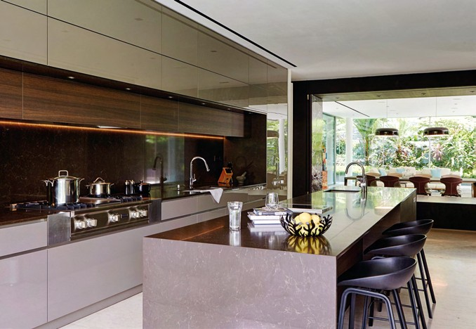 The homeowners consider the kitchen the heart of the home, which is why they designated a generous space for it.