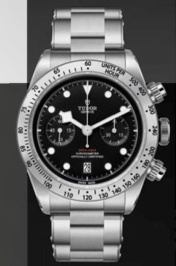 TUDOR HERITAGE BLACK BAY CHRONO $POA