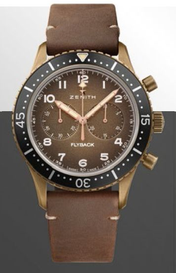 ZENITH PILOT CRONOMETRO TIPO CP-2 FLYBACK $12,000