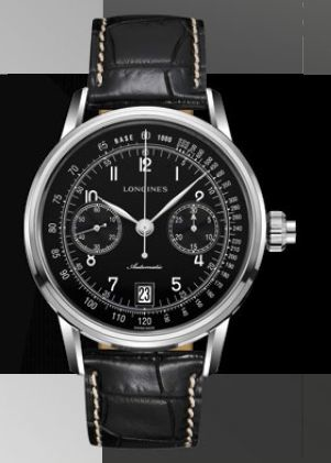 LONGINES COLUMN-WHEEL SINGLE PUSH-PIECE CHRONOGRAPH $4770