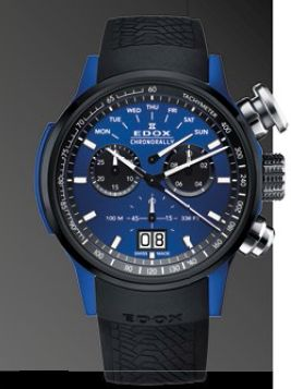 EDOX CHRONORALLY 38001-TINBU1- BUIB1 $2380