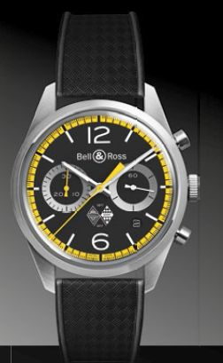 BELL & ROSS BR126 RENAULT SPORT 40TH ANNIVERSARY $6300