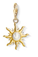 18K gold-plated Sun with motherofpearl, $129.