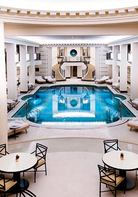 The Art Deco-style 