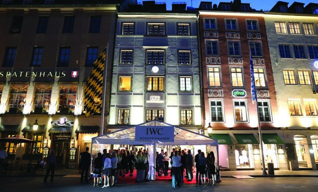 4. Grand opening of the new IWC Schaffhausen Boutique