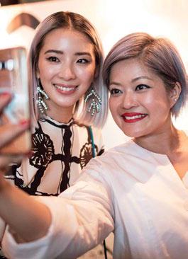 Rosemarie Heng and Irene Kim