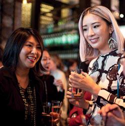 Vanessa Lim and Irene Kim