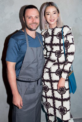 David Meyers and Irene Kim