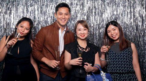 Wendy Ng, Adler Poh, Lim Yifang and Cherish Koh
