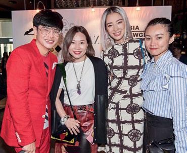 Kenneth Goh, Lisa Chan, Irene Kim and Sooyun Teng