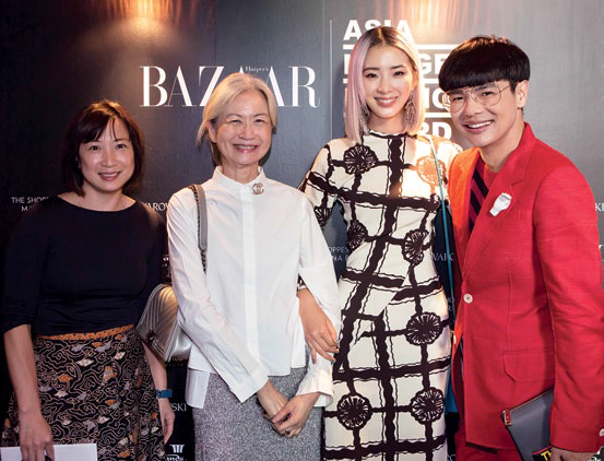 Maureen Wee, Caroline Ngui, Irene Kim and Kenneth Goh