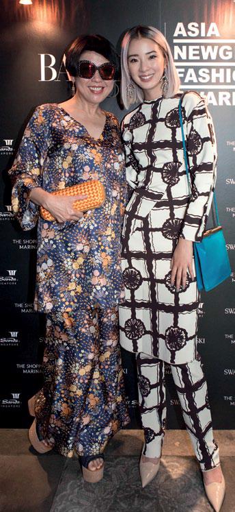 Rosalyn Tay and Irene Kim