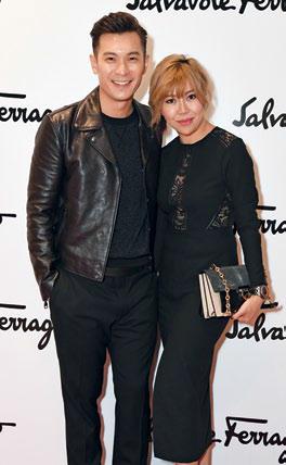 Shaun Chen and Elaine Teo
