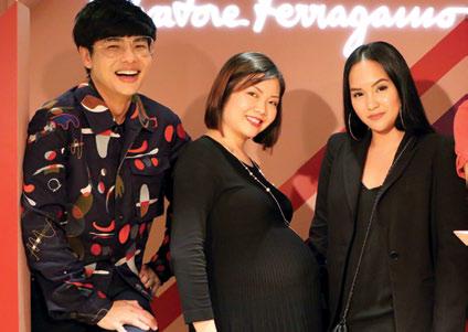 Kenneth Goh, Clarie Boo and Dana Koh