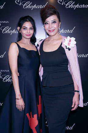Shabnam Arashan and Grace Yeh