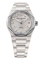 Laureato 38mm ceramic, $25,500, GirardPerregaux.