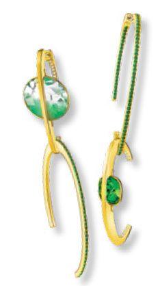 Earrings, $299, from Swarovski.