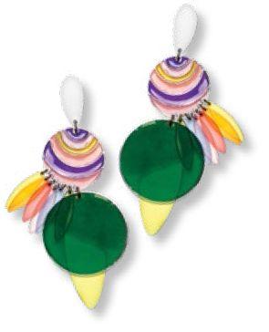 Earrings, $175, from Bimba Y Lola.
